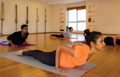 Yoga certification course in Bangalore