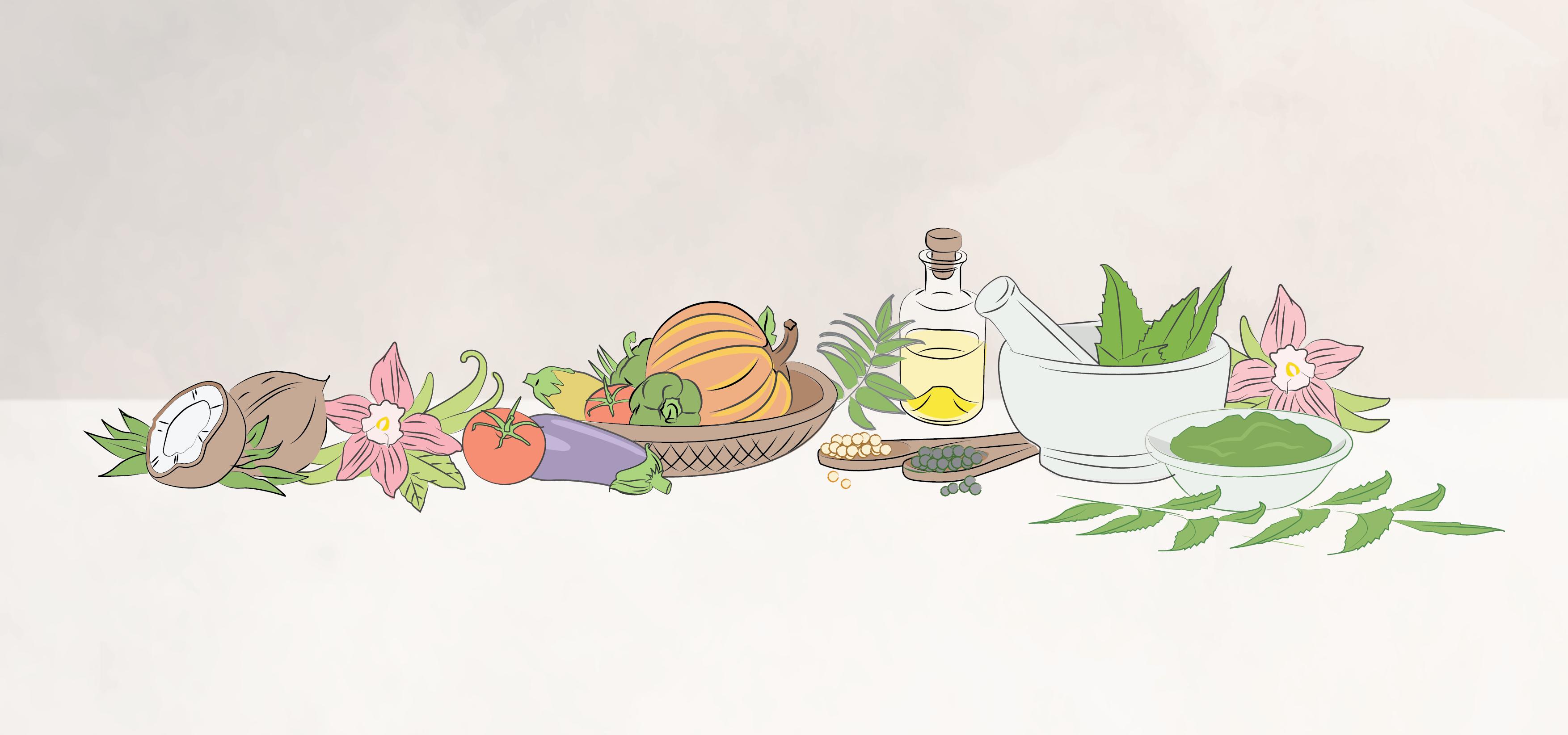 Ayurvedic and Yogic Insights to Food - a1000yoga Academy